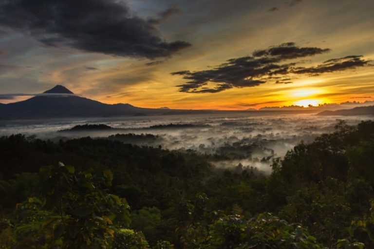 Sharing Tour Borobudur Sunrise in Punthuk Setumbu Hill
