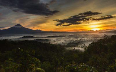 Sharing Tour Borobudur Sunrise in Punthuk Setumbu Hill